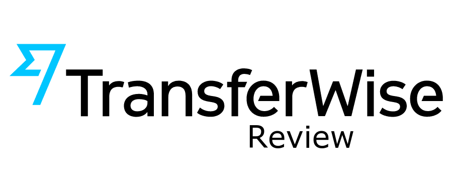 Transferwise logo with 'review' added